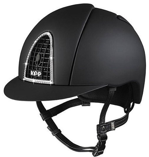 KEP Cromo Textile Black with Swarovski Crystal & Black Grill (£612.50 Exc V