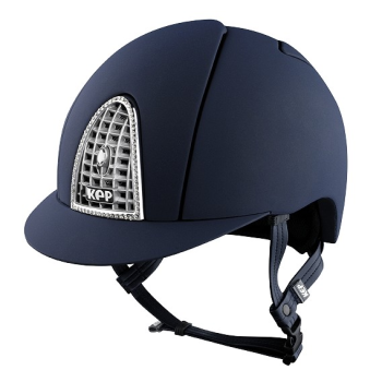 KEP Cromo Textile Blue with Swarovski Crystal & Chrome Grill (£658.33 Exc VAT & £790.00 Inc VAT)