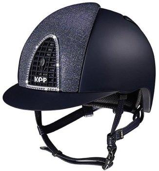 KEP Cromo Textile Blue, Blue Glitter Galassia Vent, Blue Grill & Swarovski Surround (£675.00 Exc VAT or £810.00 Inc VAT)