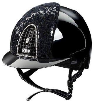 KEP Cromo Polish Black, With Black Latex Front & Back Vents, Black Grill with Swarovski Crystal Surround (£832.50 Exc VAT or £999.00 Inc VAT)