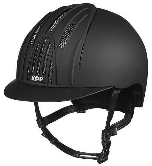 KEP Fast Helmet Black With Chrome Grills (£254.17 Exc VAT or £305.00 Inc VA