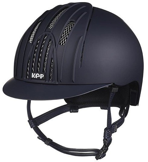 KEP Fast Helmet Navy With Chrome Grills (£254.17 Exc VAT or £305.00 Inc VAT