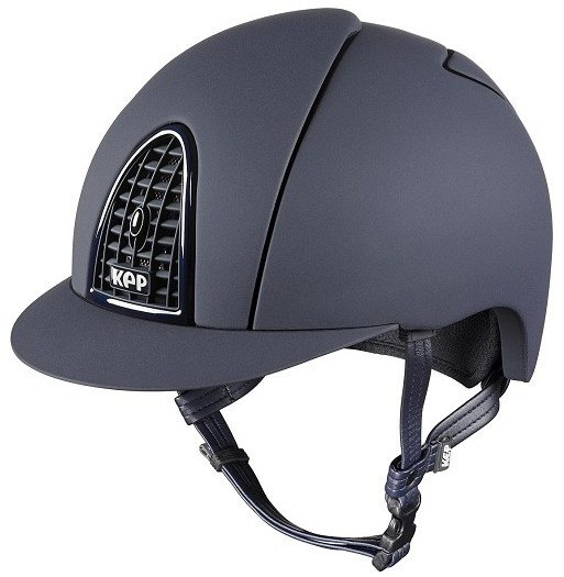 KEP Cromo Mica Helmet - Blue Shell - Matt Blue Grill & Blue Surround (£407.