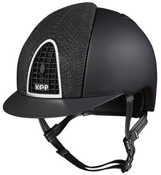 KEP Cromo Textile Black With Black Python Vent (£708.33 Exc VAT or £850.00 Inc VAT)