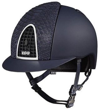 KEP Cromo Textile Blue With Blue Python Vent (£708.33 Exc VAT or £850.00 Inc VAT)
