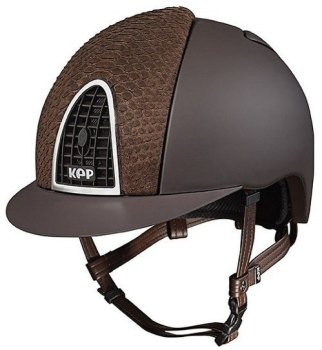 KEP Cromo Textile Brown With Brown Python Vent (£708.33 Exc VAT or £850.00 Inc VAT)