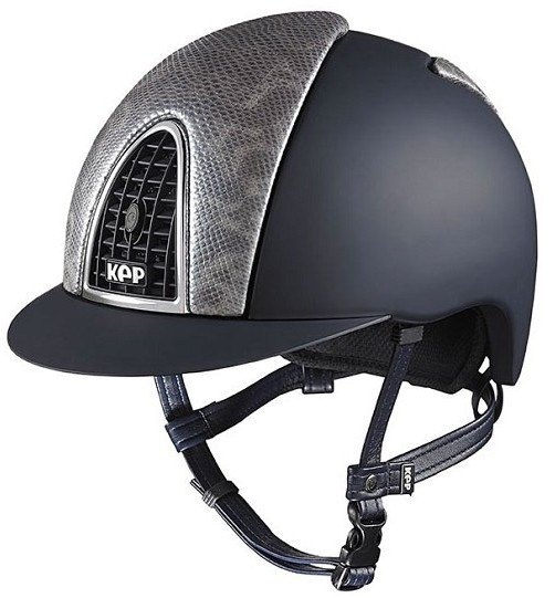 KEP Cromo Textile Black With Tokyo Iceberg Karung Snake Skin Front & Rear V