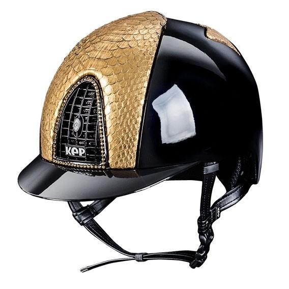 KEP Leather & Python Helmet Range