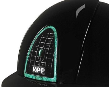 KEP Cromo Polish Black, with rear panel, surround and air vent button in Malachite (£7708.33 Exc VAT or £9250.00 Inc VAT)