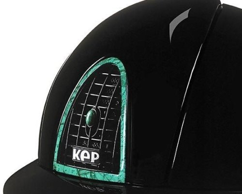 KEP Cromo Polish Black, with rear panel, surround and air vent button in Ma