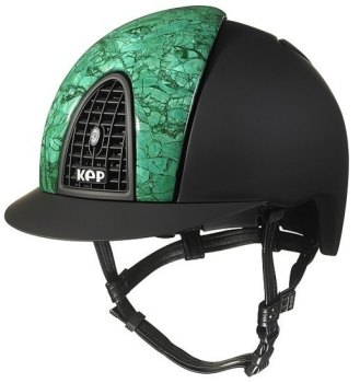 KEP Cromo Textile Black with Front Panel in Malachite (£3666.67 Exc VAT or £4400.00 Inc VAT)
