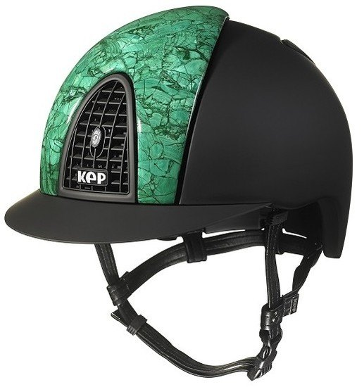 KEP Cromo Textile Black with Front Panel in Malachite (£3666.67 Exc VAT or