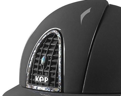 KEP Cromo Polish Grey with Rear Panel, Surround and Vent Button in Abalone