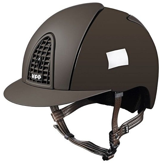 KEP Cromo Polish Brown with Textile Brown Front and Rear Panels (£433.33 Ex