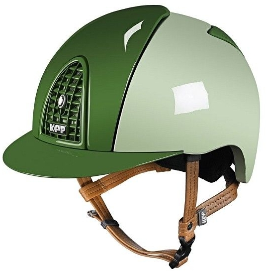 KEP Cromo Polish Light Green with polished Green Front and Rear Panels (£43