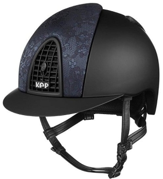 KEP Cromo Textile Black with Black Woven Silk, Black Grill (£645.83 Exc VAT or £775.00 Inc VAT)