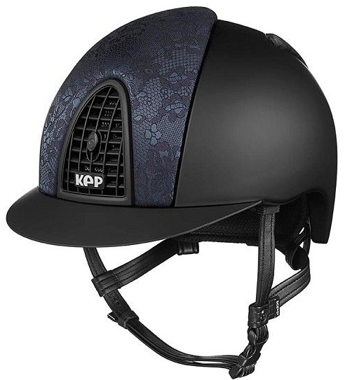 KEP Cromo Textile Black with Black Woven Silk, Black Grill (£645.83 Exc VAT