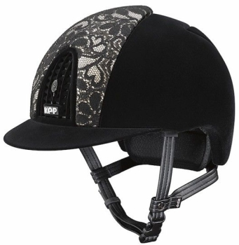 KEP Cromo Full Velvet Black with Lace Front Panel (£547.50 Exc VAT or £657.00 Inc VAT)