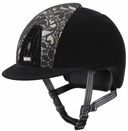 KEP Cromo Full Velvet Black with Lace Front Panel (£547.50 Exc VAT or £657.