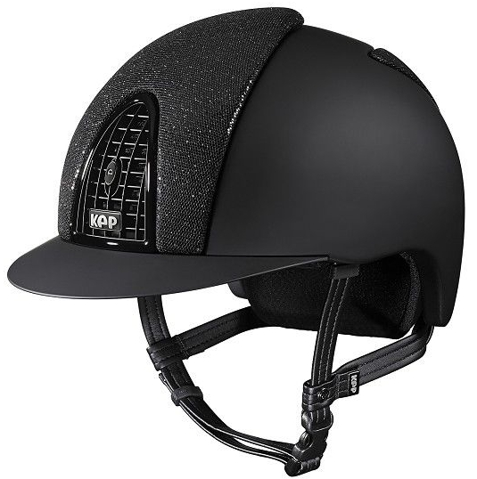KEP Cromo Textile Black with Black Glitter Front and Back Panels (£657.50 E
