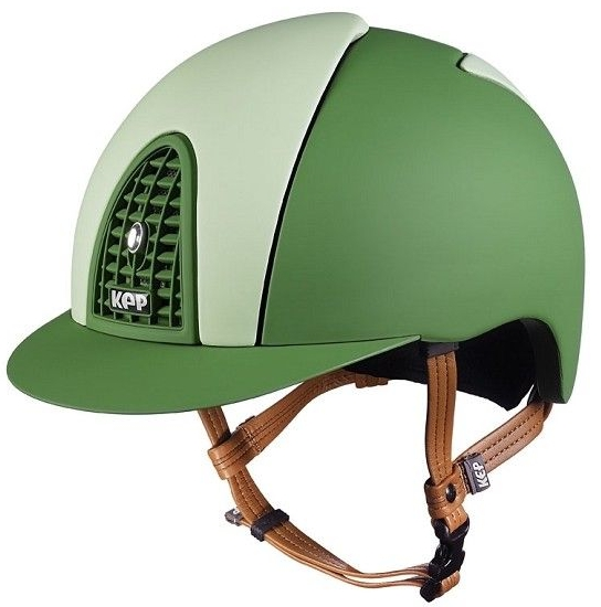 KEP Cromo Textile Green with Light Green Front and Rear Panels (£433.33 Exc