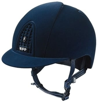 KEP Cromo Full Blue Velvet (£470.83 Exc VAT or £565.00 Inc VAT)