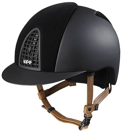 KEP Cromo Textile Black with Front & Rear Black Velvet Panels (£499.17 Exc