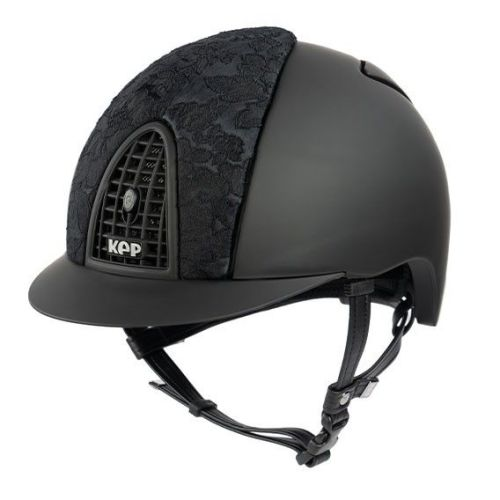 KEP Cromo Textile Black with Black Adelaide Lace (£565.83 Exc VAT & £679.00