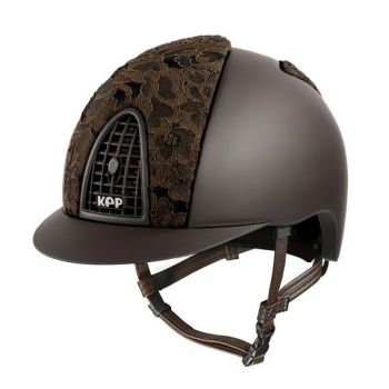 KEP Cromo Textile Brown with Brown Adelaide Lace on front and Rear Panel (£687.50 Exc VAT & £825.00 Inc VAT)