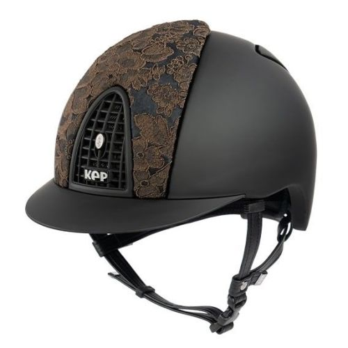 KEP Cromo Textile Black with Brown Adelaide Lace (£565.83 Exc VAT & £679.00