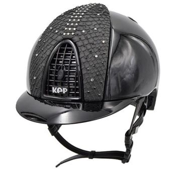 KEP Cromo Polish Black with a Swarovski Python Front Panel (£812.50 Exc VAT & £975.00 Inc VAT)
