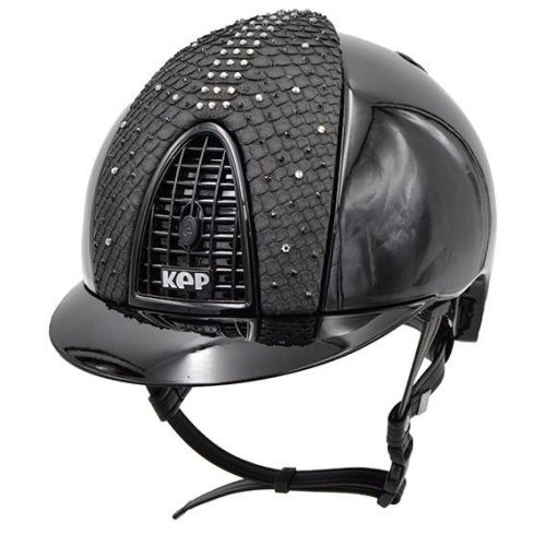KEP Cromo Polish Black with a Swarovski Python Front Panel (£812.50 Exc VAT