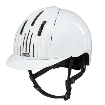 KEP Cromo Endurance Riding Helmet - White (£257.50 Exc VAT & £309.00 Inc VAT)