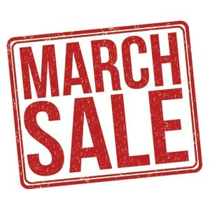 March Sale