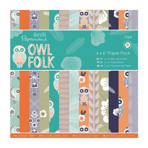 Owl Folk - 6 x 6
