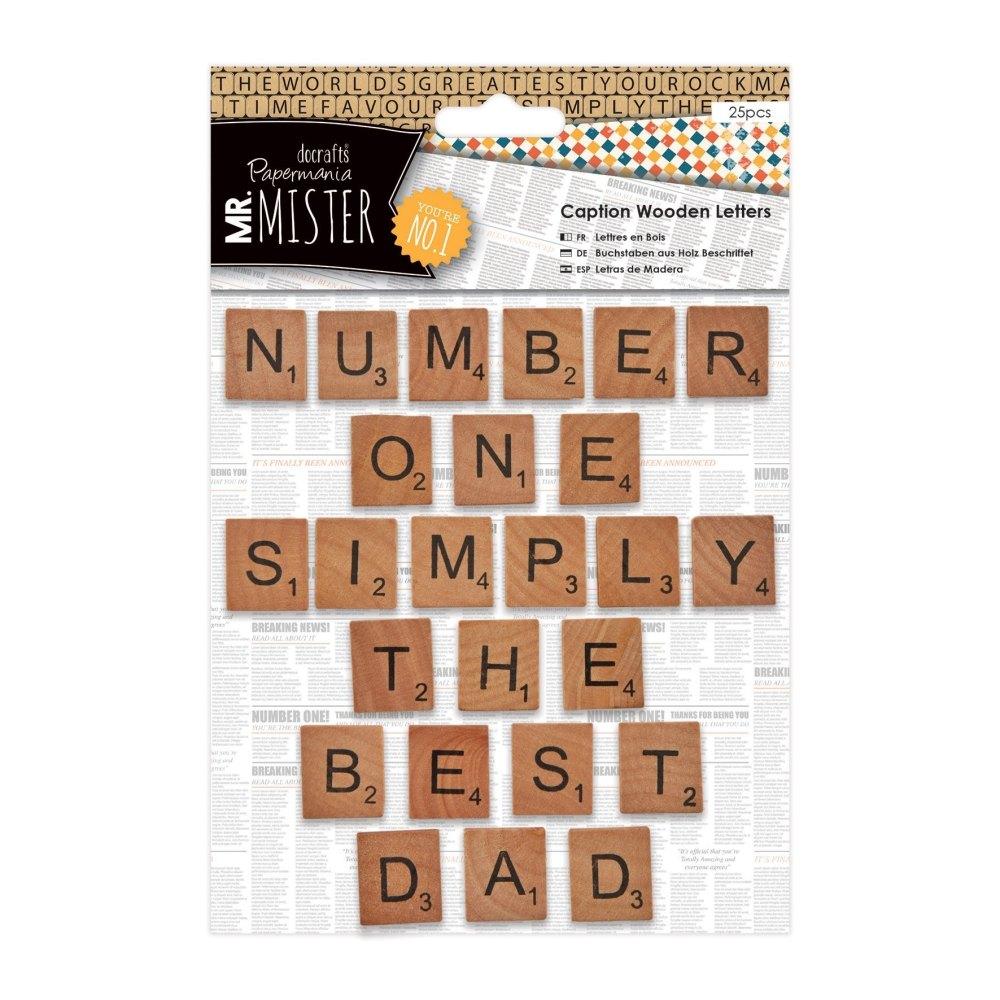 Mr Mister - Caption wooden letters