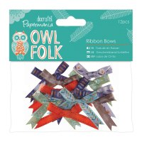 Owl Folk - Ribbon Bows 12pcs