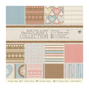 "Craft Collection - 6 x 6"" Paper Pack"