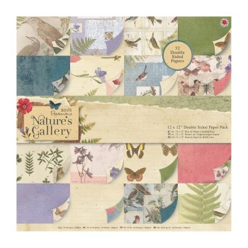 "Nature's Gallery 12 x 12"" Double Sided Paper Pack"