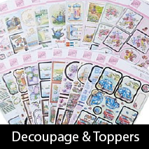 Decoupage & Toppers