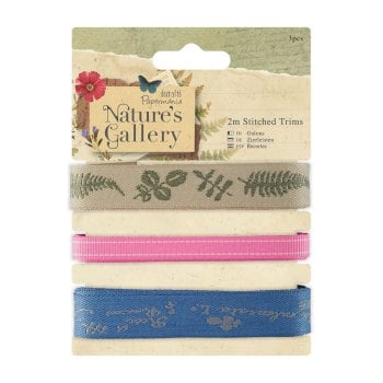 Nature's Gallery 2m Stitched Trims / Ribbons