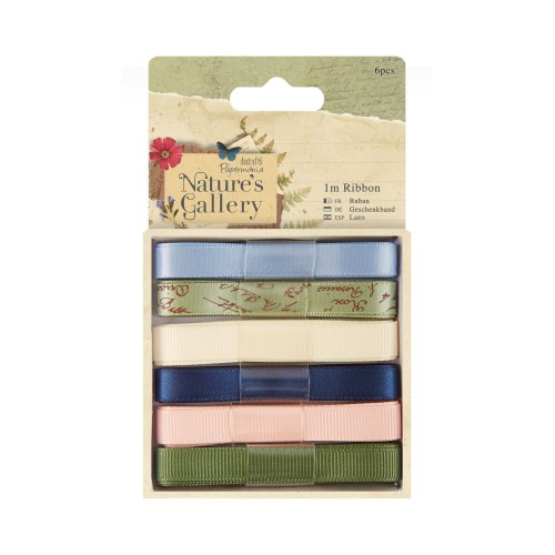 Nature's Gallery - Ribbon 6pcs 1m each