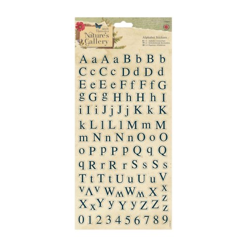Alphabet Stickers - Nature's Gallery