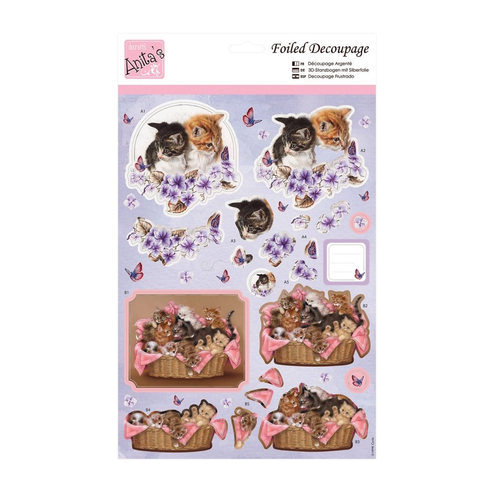 Foiled Decoupage
