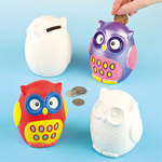 Ceramic owl moneybank