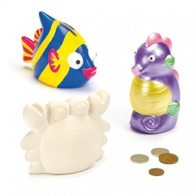 Ceramic Sea horse Money Bank