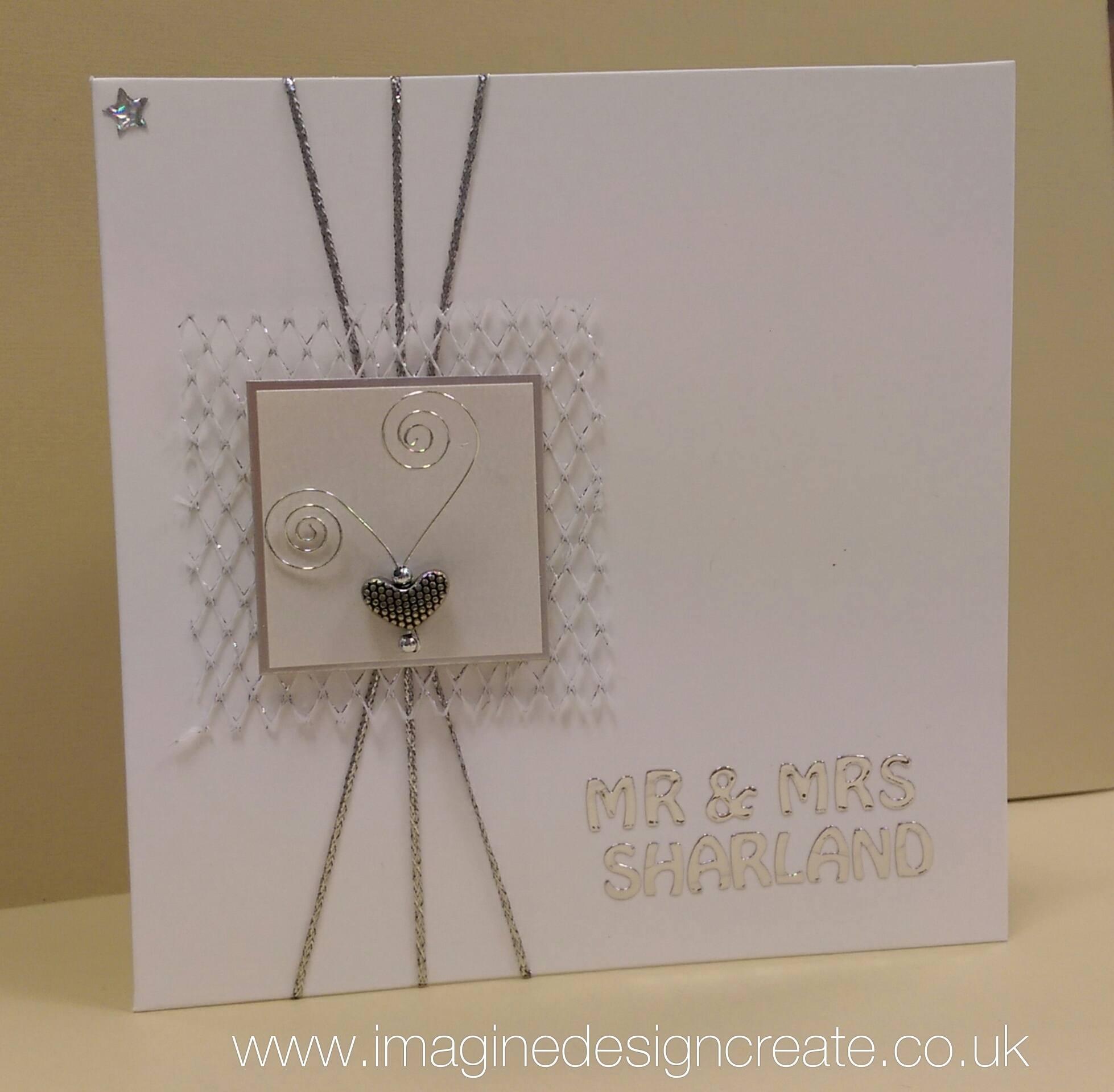 CAS Wedding Card