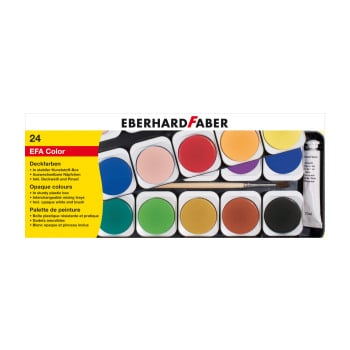 Eberhard Faber - Watercolours Paintbox 24pk