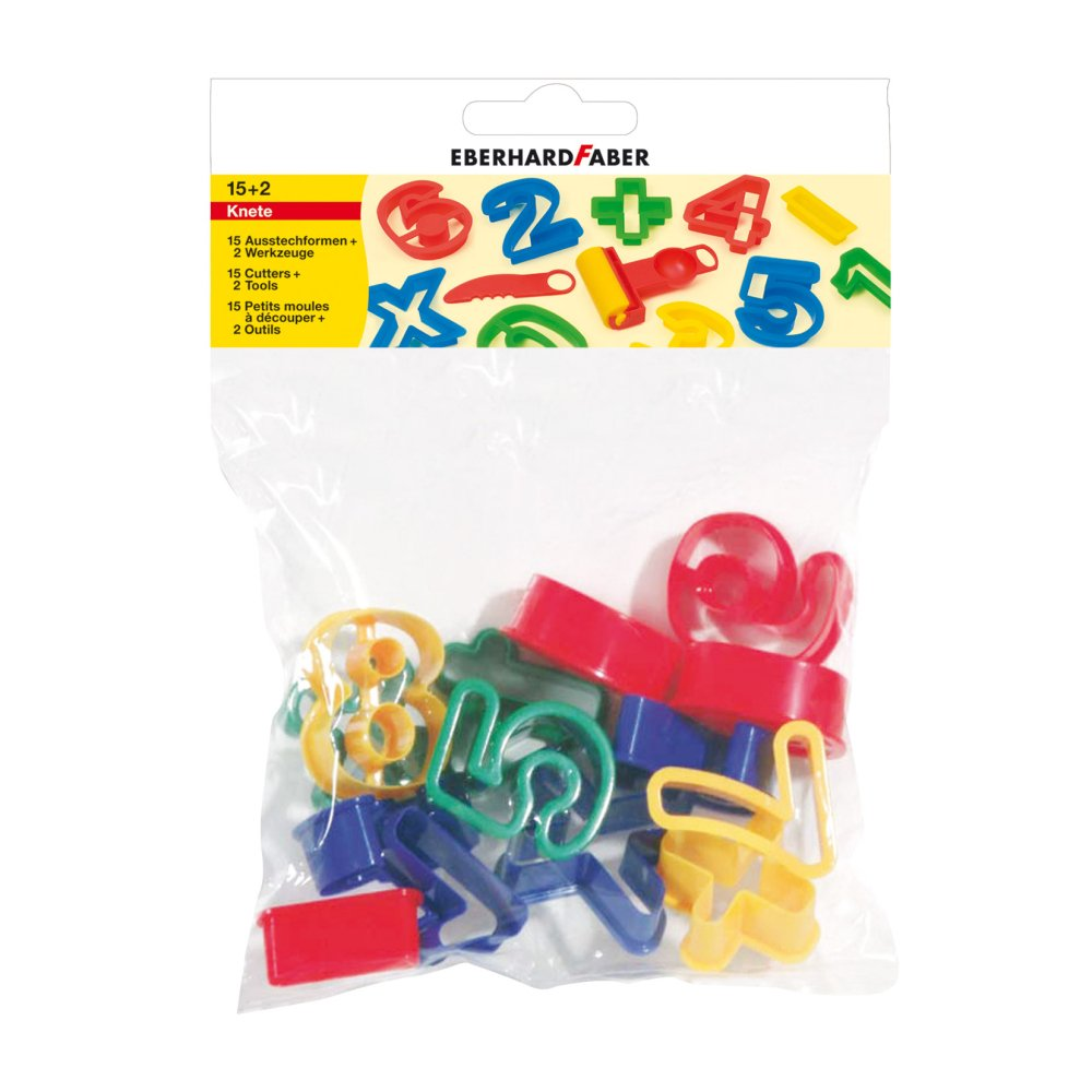 Cutter Set '123' - Numbers 15pk