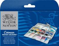 Watercolour Set - Winsor & Newton Cotman Pocket Plus